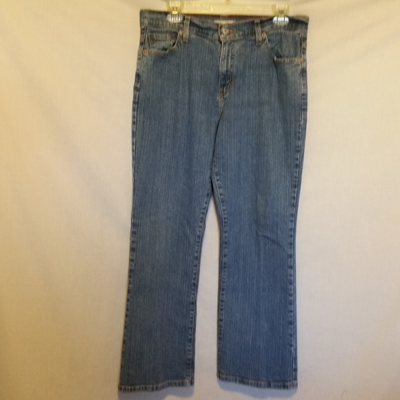Levi's Denim - Levi's Jeans 550 Relaxed Boot Cut Size 14P